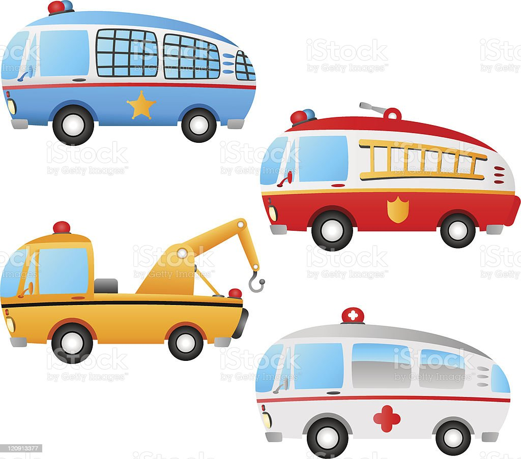 occupation vehicles royalty-free stock vector art