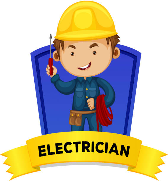 Electrician Logos Clip Art Vector Images Illustrations