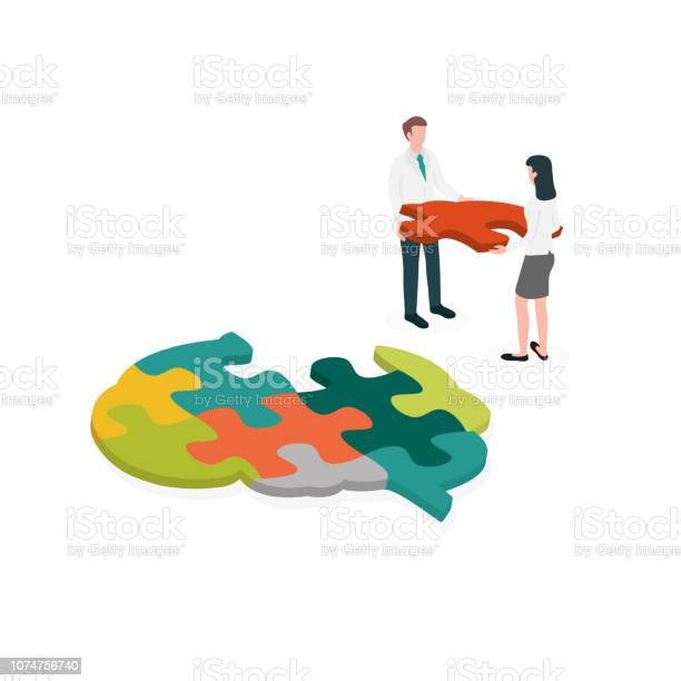 Occupational therapist assembling a brain jigsaw puzzle concept for vector id1074756740?b=1&k=6&m=1074756740&s=612x612&h=gocfigda5yhuw7jho zzydzb4gpvlj4wo4bstimmb8k=