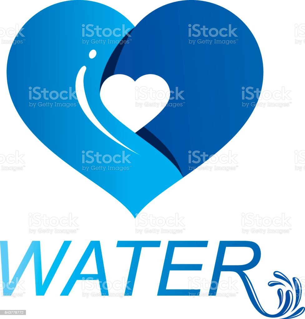Ocean freshness theme vector symbol for use in mineral water ocean freshness theme vector symbol for use in mineral water advertising living in harmony with biocorpaavc Gallery