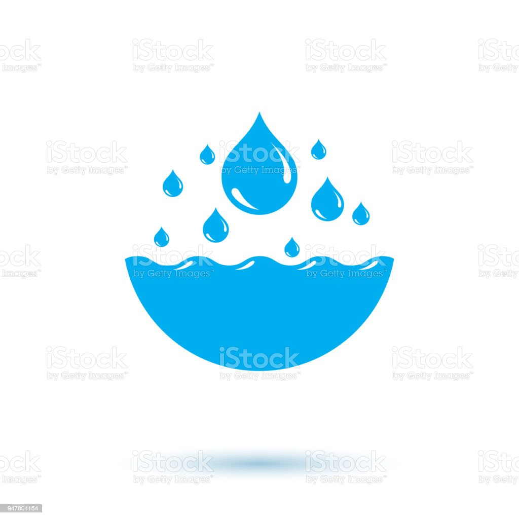 Ocean freshness theme vector symbol for use in mineral water ocean freshness theme vector symbol for use in mineral water advertising living in harmony with biocorpaavc Choice Image