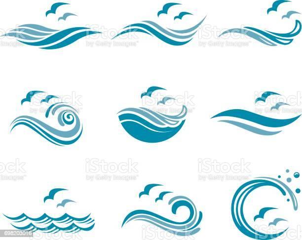 Ocean icon set vector id698203016?b=1&k=6&m=698203016&s=612x612&h=bltbru5pfbhfahi1j2hnxco8gsltofwnswpqvmfrgbo=