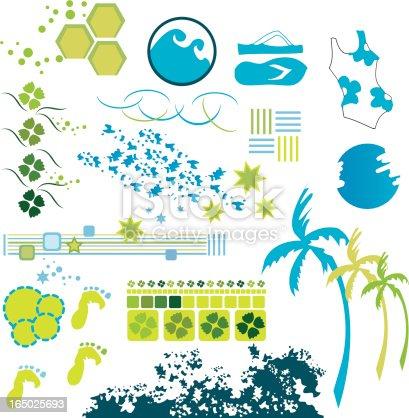 Ocean Pattern Designs Set 3