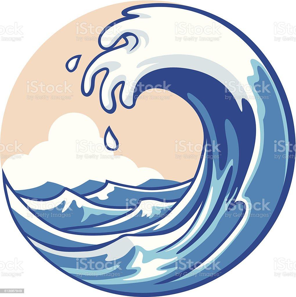 royalty free tidal wave clip art vector images illustrations istock rh istockphoto com ocean wave clipart black and white simple ocean wave clipart