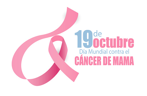 19 October Breast Cancer World day in Spanish