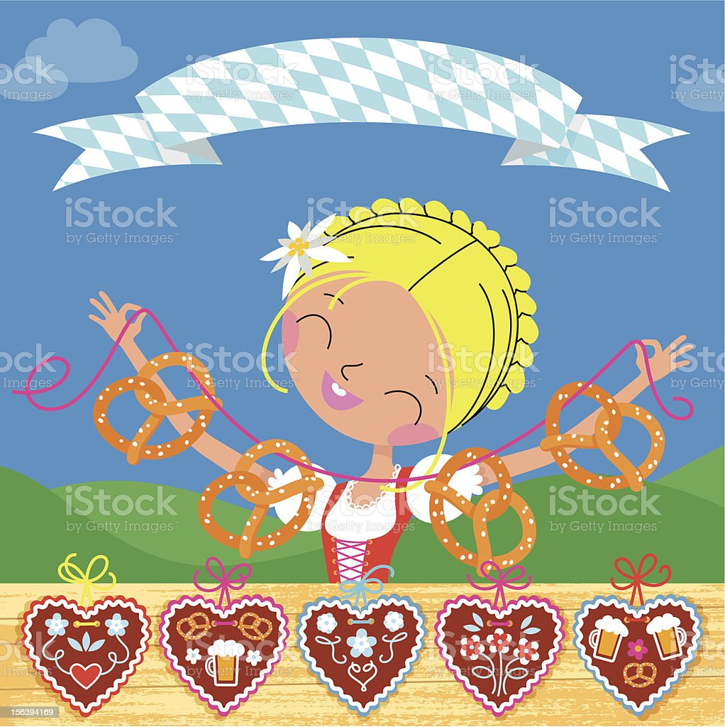 Octoberfest Fair royalty-free octoberfest fair stock vector art & more images of abundance