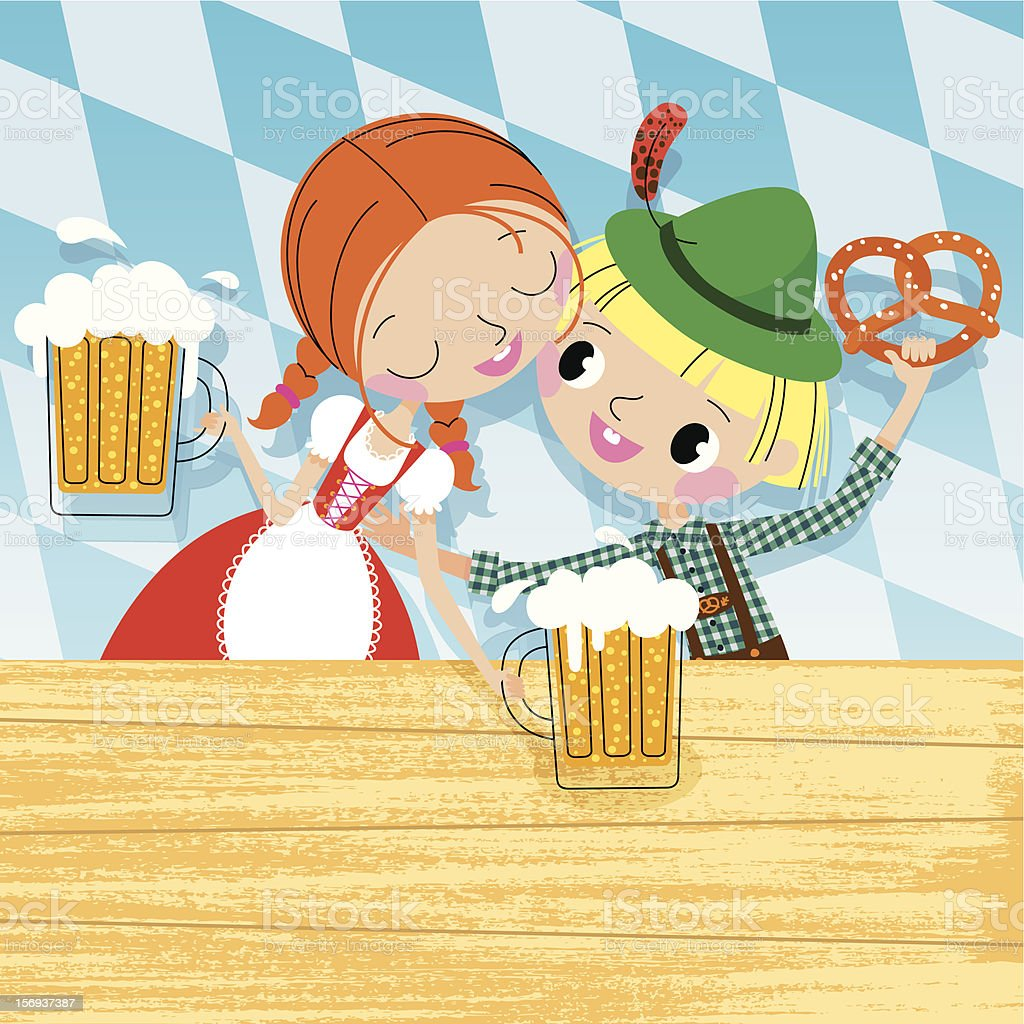 Octoberfest royalty-free stock vector art