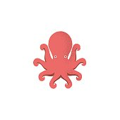 istock Octopus icon 619761246