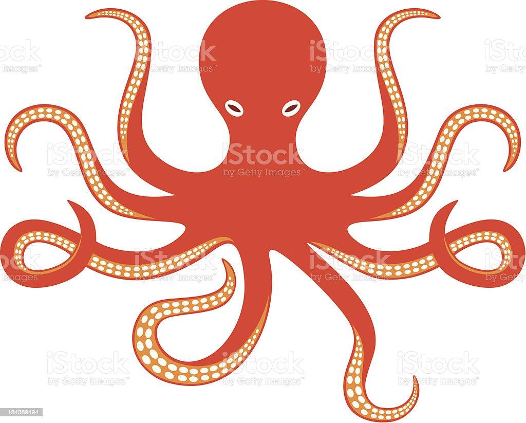 octopus ocean vector art illustration