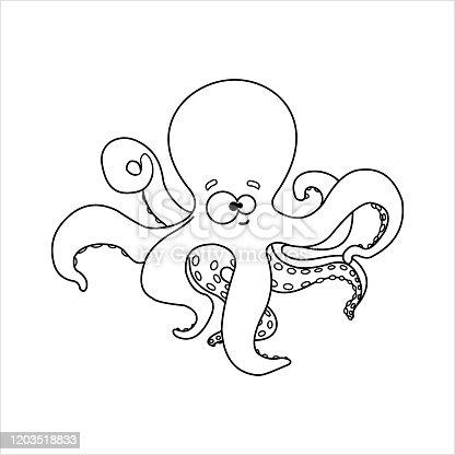 Ucretsiz Coloring Book Octopus Psd Dosyalari Vektorler Ve Grafikler