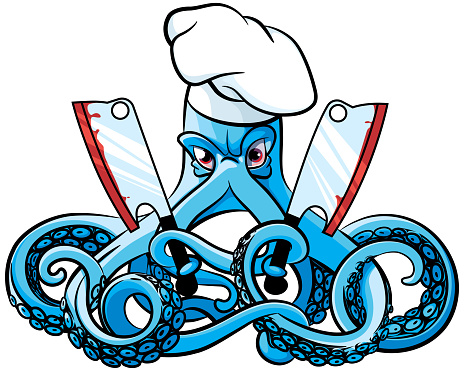 Octopus the Mad Cook