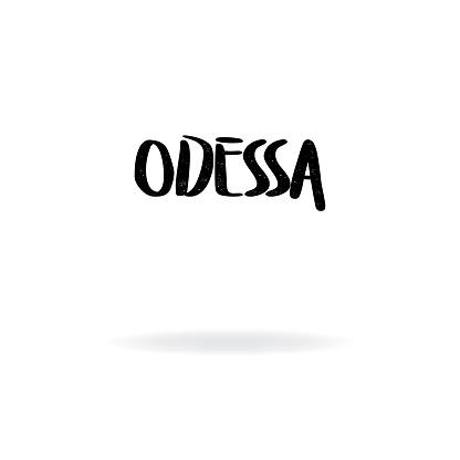 Odessa Lettering Design