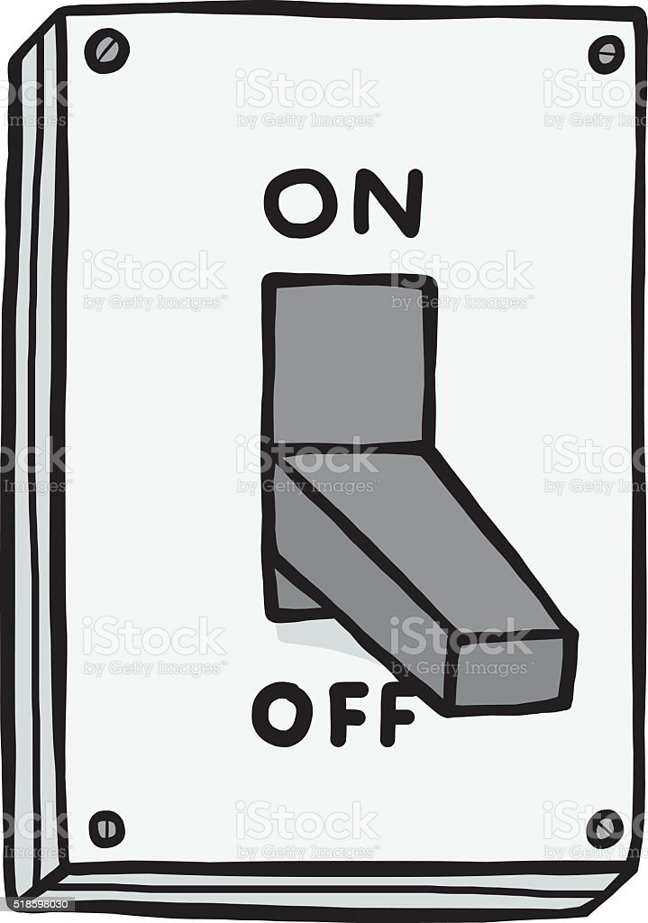 Clipart On Off Switch Clipart - Clipart Vector Design •