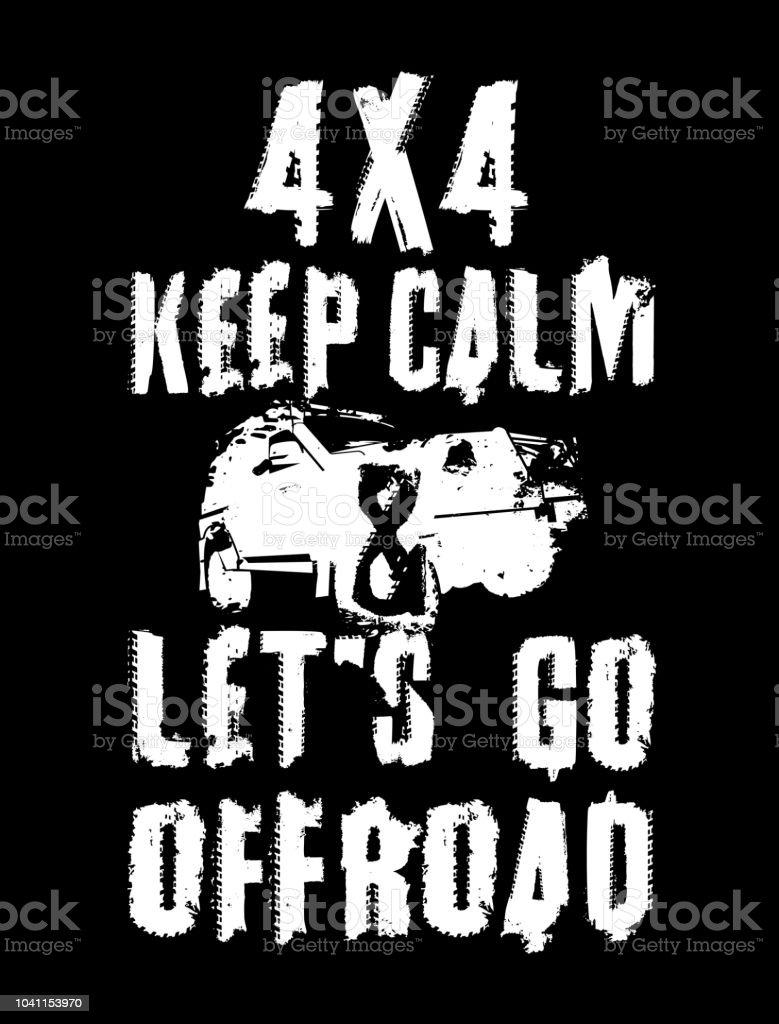 Off Road Quote Poster Immagini Vettoriali Stock E Altre Immagini Di 4x4 Istock