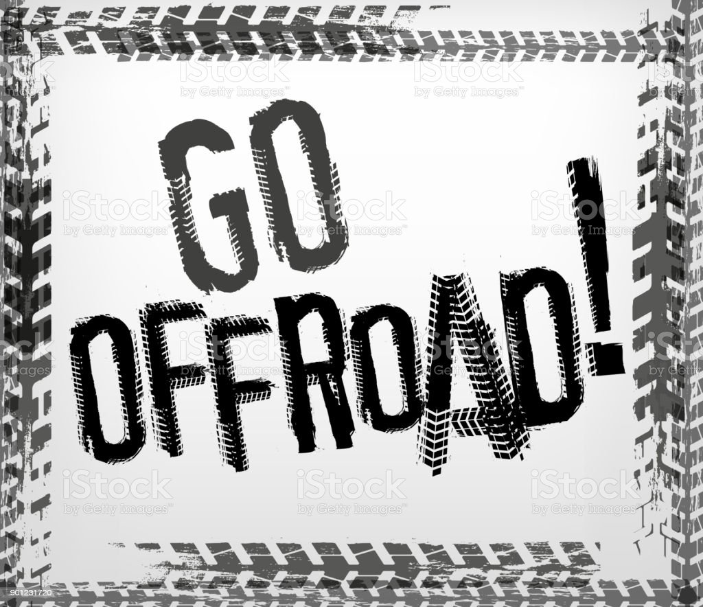 Off Road Quote Stock Vector Art More Images Of 4x4 Istock