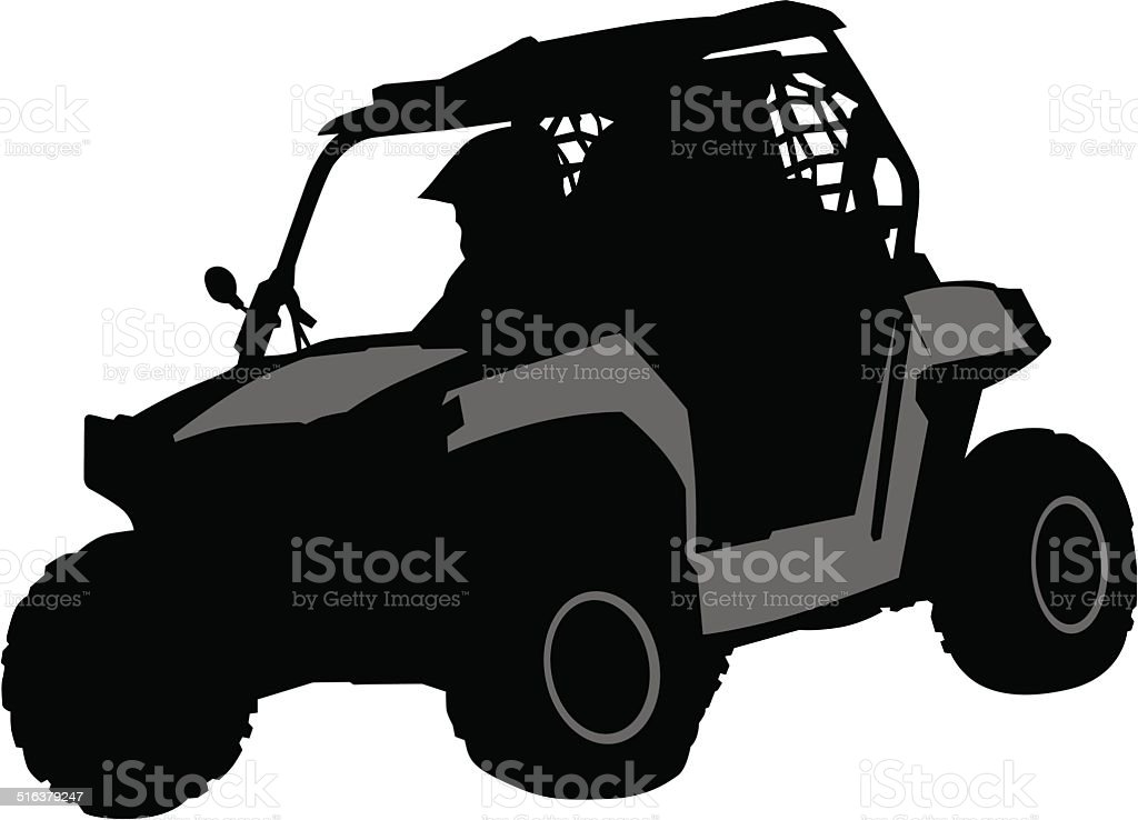 Off road vector art illustration