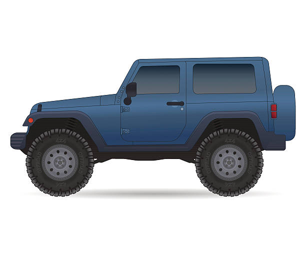 Best Jeep Illustrations, Royalty-Free Vector Graphics ...