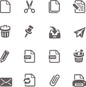Office and Documents Icon Set | Simplicity2 Series