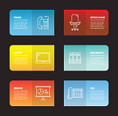 Office and Working Infographic Design Template