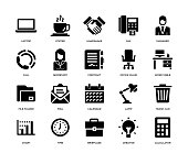Office and Workplace Icon Set