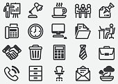 Office and Workplace Icons