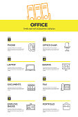 Office and Workplace Infographic Design Template