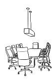 istock Office Boardroom Empty 1134562223