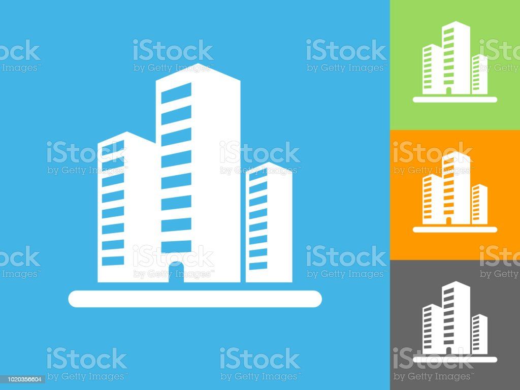 Apartment Building Business Downtown Flats Home House Office