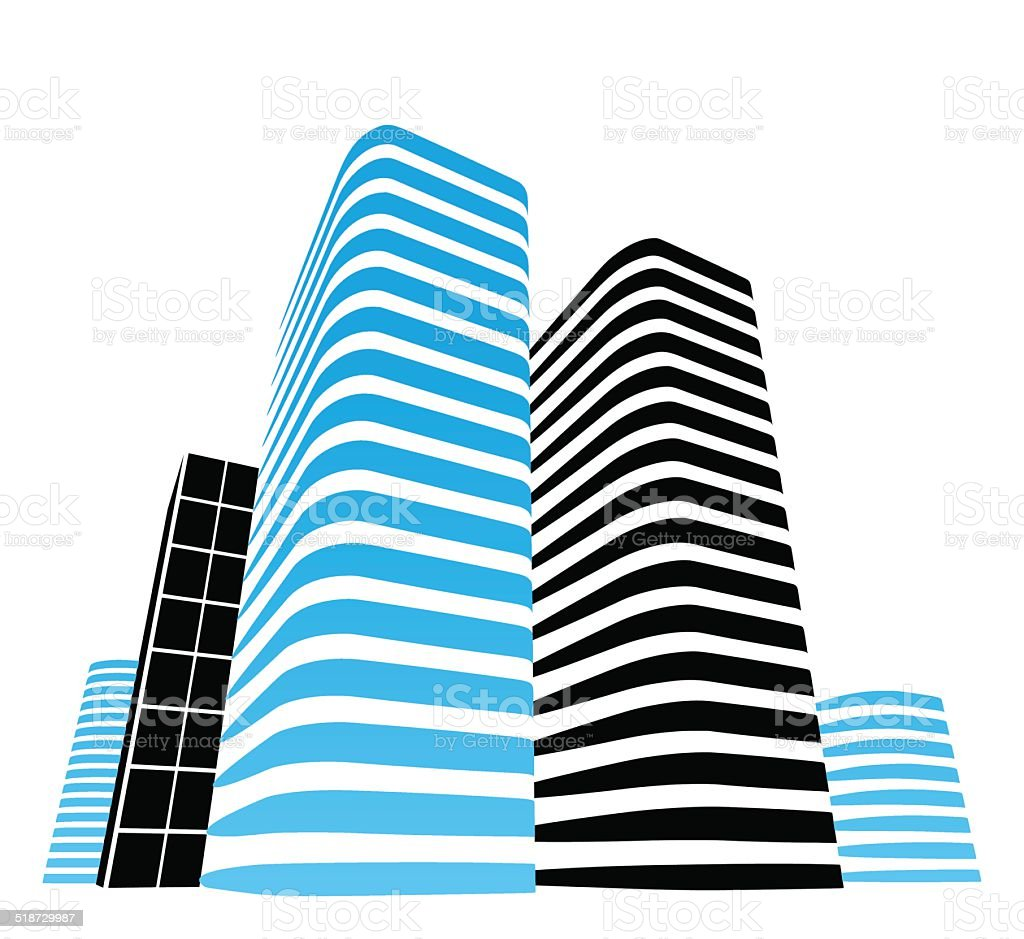 office buildings stock vector art more images of abstract rh istockphoto com vector building icon vector building icon