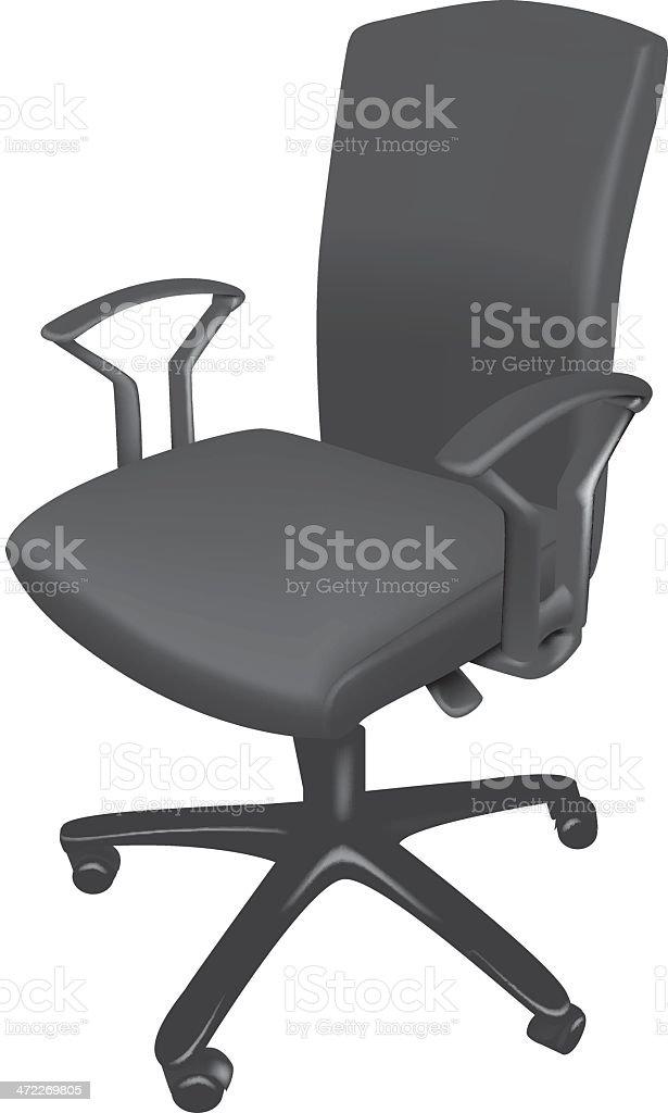 Office Chair illustration royalty-free stock vector art
