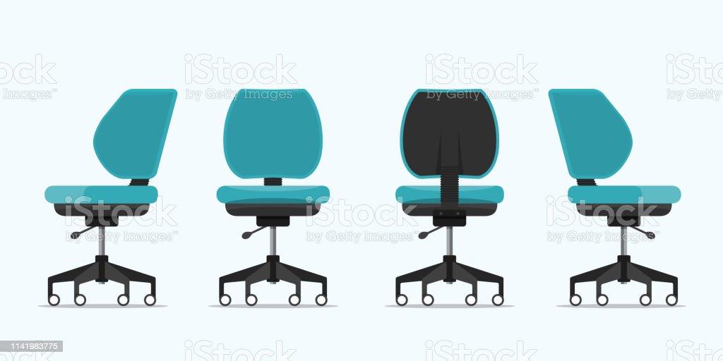 Chaise Différents De Ou Bureau Vue Dans Points rBodCxe