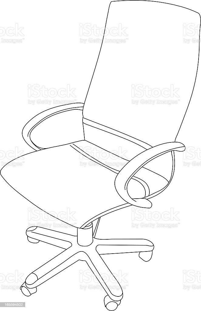 Office Chair royalty-free office chair stock vector art & more images of business