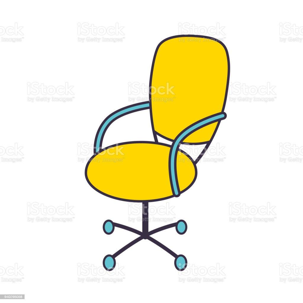 chaise de bureau cliparts vectoriels et plus d 39 images de accoudoir 940295058 istock. Black Bedroom Furniture Sets. Home Design Ideas