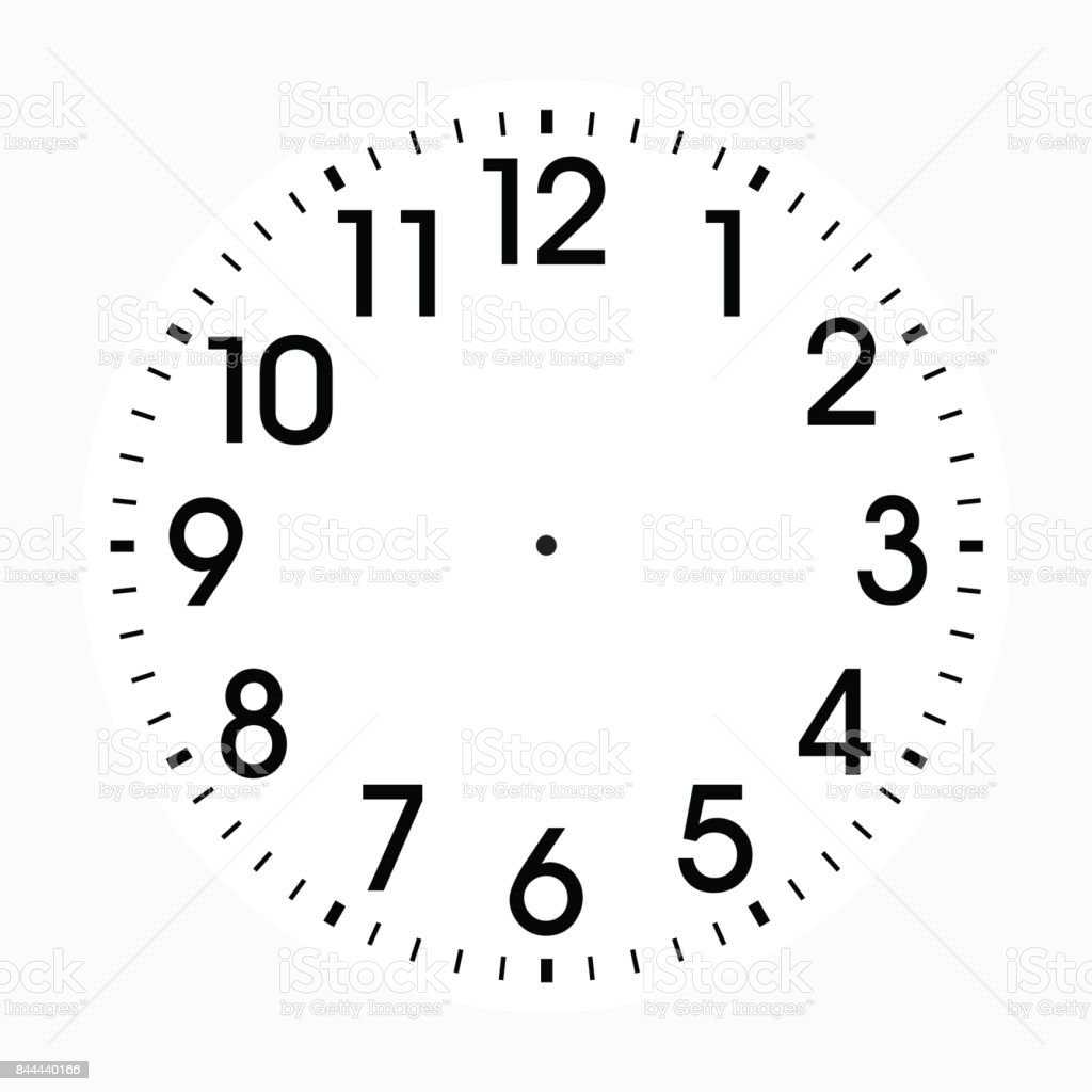 Office Clock icon design vector art illustration
