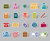 Office Color Icon Label