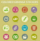 istock office colored grunge icons 1254461560