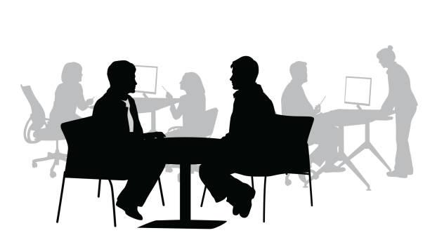Büro-Berater – Vektorgrafik