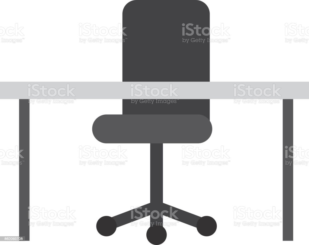 Office Équipement Image Vecteurs Bureau Chaise Mobilier Et nwyN8Ovm0