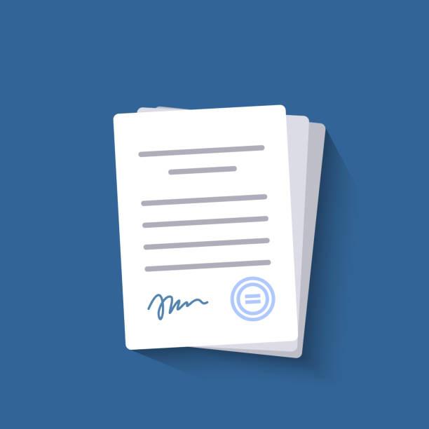 office-dokumente isoliert. - büro zukunft und niemand stock-grafiken, -clipart, -cartoons und -symbole