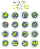 istock office dynamic icons 1254395854