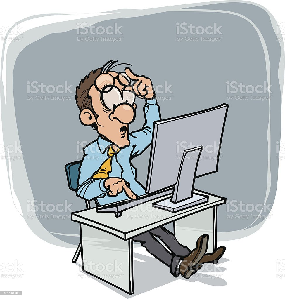 Office employee royalty-free office employee stock vector art & more images of adult