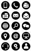 Office Equipment Icon Set in Vector