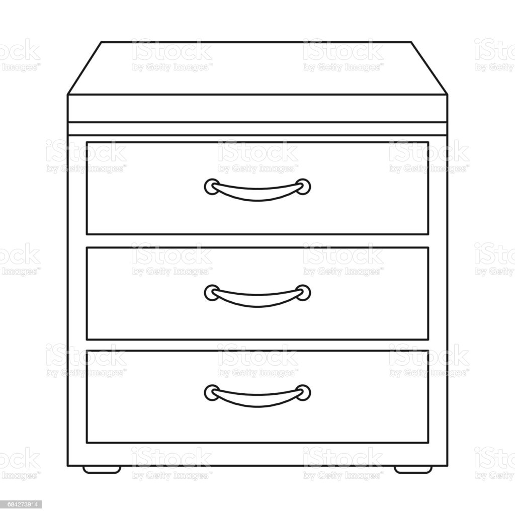 Royalty Free Locked Drawer Clip Art Vector Images