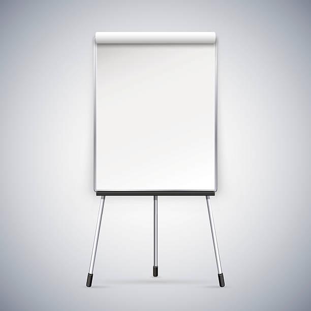 büro flipchart. - flipchart stock-grafiken, -clipart, -cartoons und -symbole