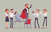 Office hero admired by his colleagues