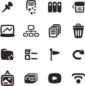 Vector File of Office Icon Set