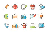 office icons - colour 01