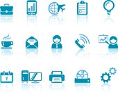 Office Icons | Simple Blue Series