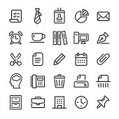 Office Icons - Smart Line Series