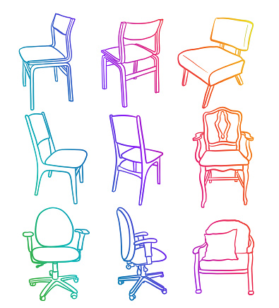 Office Kitchen And Accent Chairs Rainbow